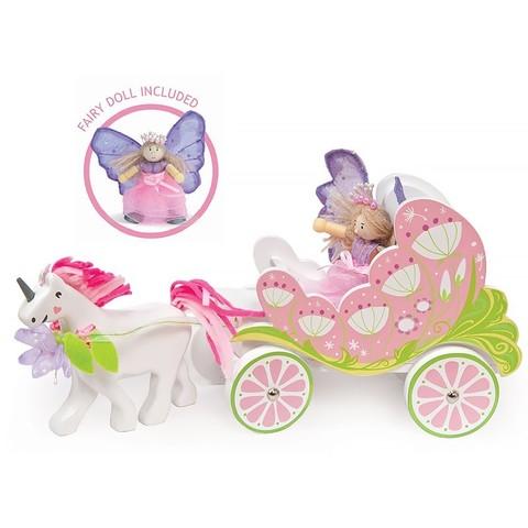 Игрушка Карета с феей и единорогом, Le Toy Van