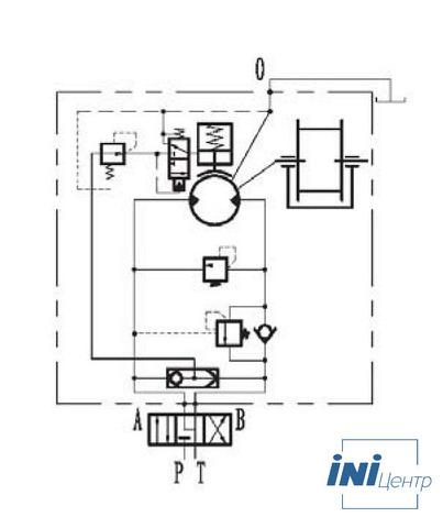 Стандартная лебедка IYJ23-20-164-14-ZPG
