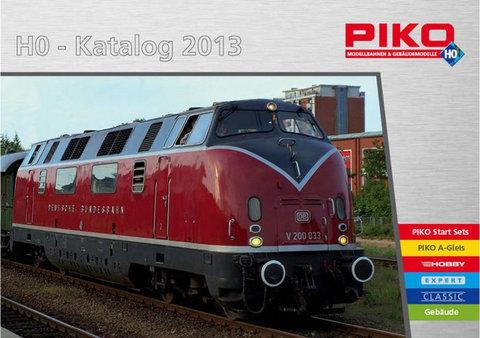 99503 Каталог продукции PIKO 2013 года, масштаб Н0 (на немецком языке).