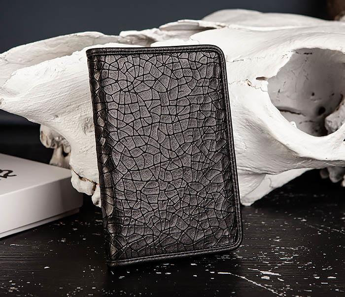 BC217-4 Кожаная обложка для паспорта, карт и документов «Onyx» фото 03