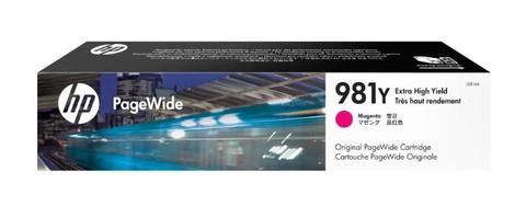 Оригинальный картридж струйный HP L0R14A (№981Y) пурпурный