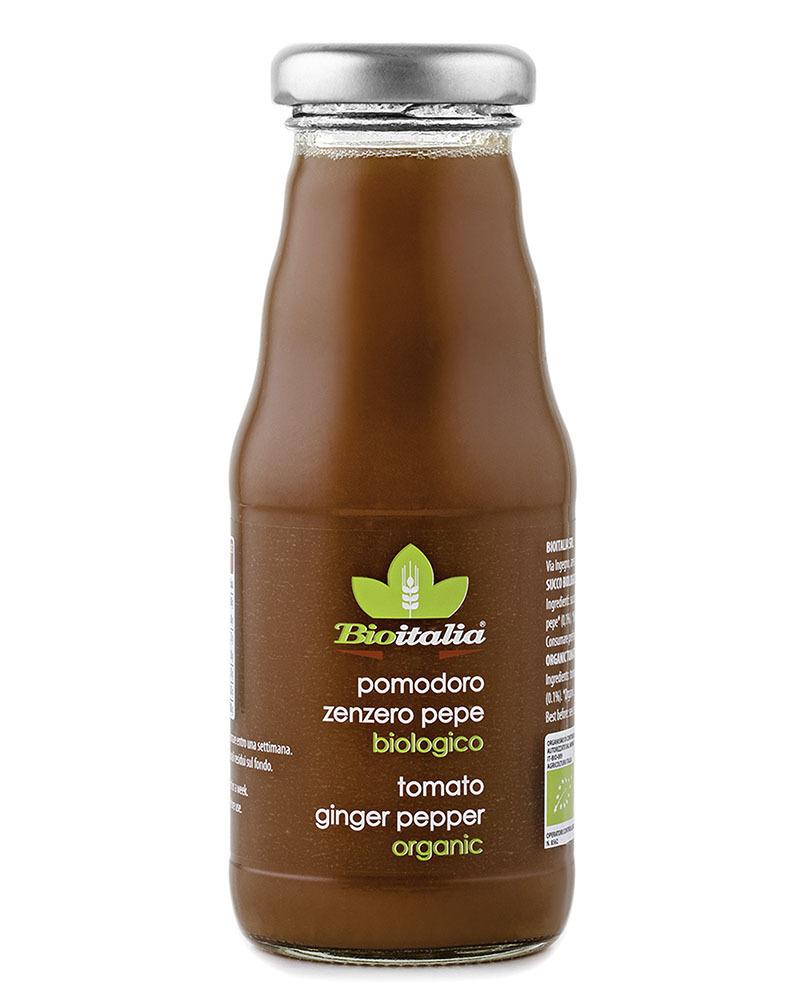 Томатный сок Bioitalia с имбирем и перцем 200 мл.