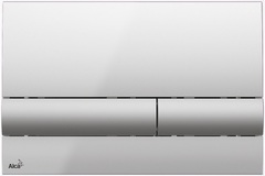 Клавиша смыва для унитаза Alcaplast M1713 фото