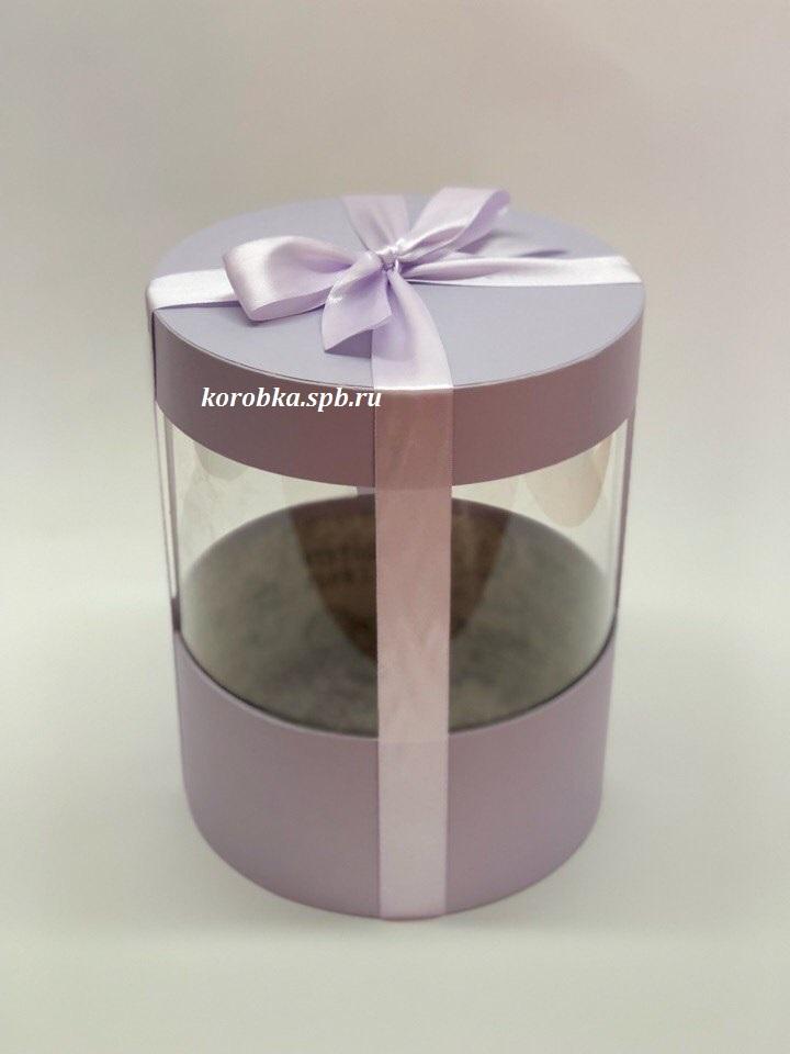 Коробка аквариум 18 см Цвет : Светло серый  . Розница 350 рублей .