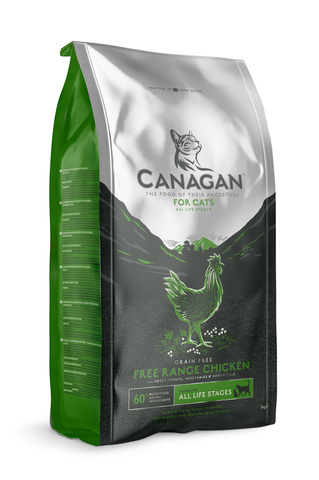 Сухой корм Canagan Grain FreeFree-Run Chicken для кошек