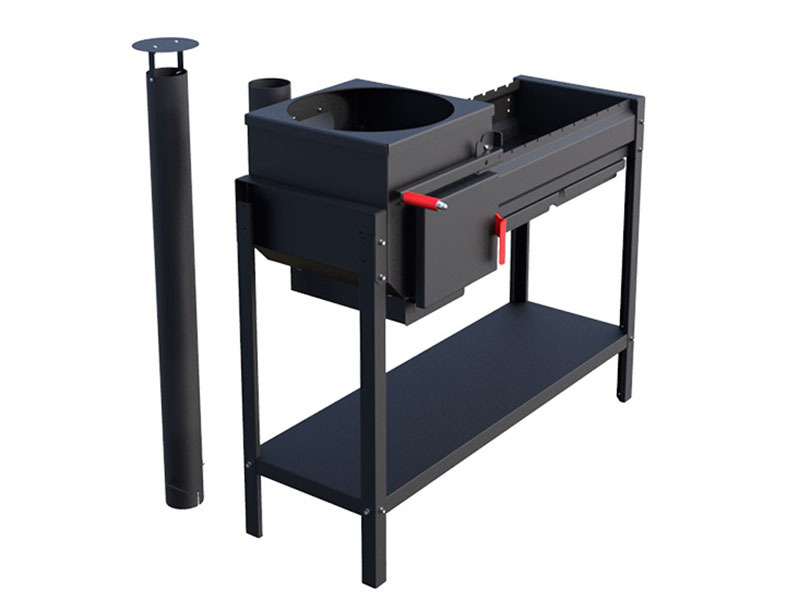 Мангалы Печь-мангал Grillver Iscander Standart Air 1.jpg