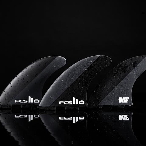 FCS II MF Neo Carbon Tri Retail Fins Black