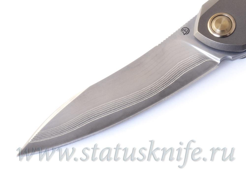 Нож Чебуркова Русский Ламинат Bronze - фотография