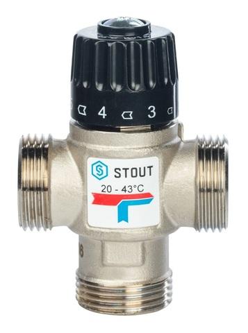 Stout термостатический смесительный клапан 1