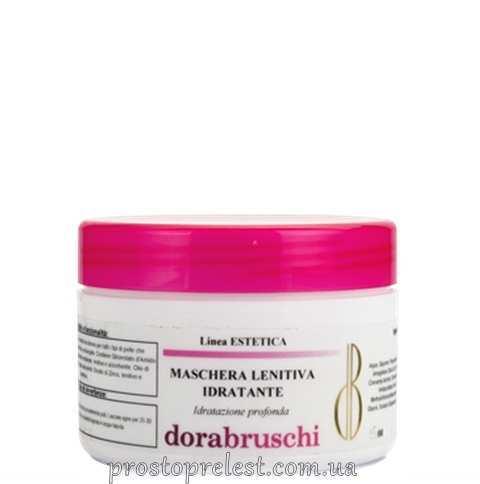 Dorabruschi estetica maschera lenitiva idratante - Регенерирующая увлажняющая маска с плацентой для нормальной и сухой кожи лица и век, линия Estetica viso