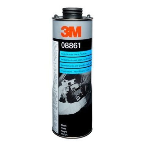 3M Покрытие антикоррозийное густое Body Schutz (черное), 1л 08861