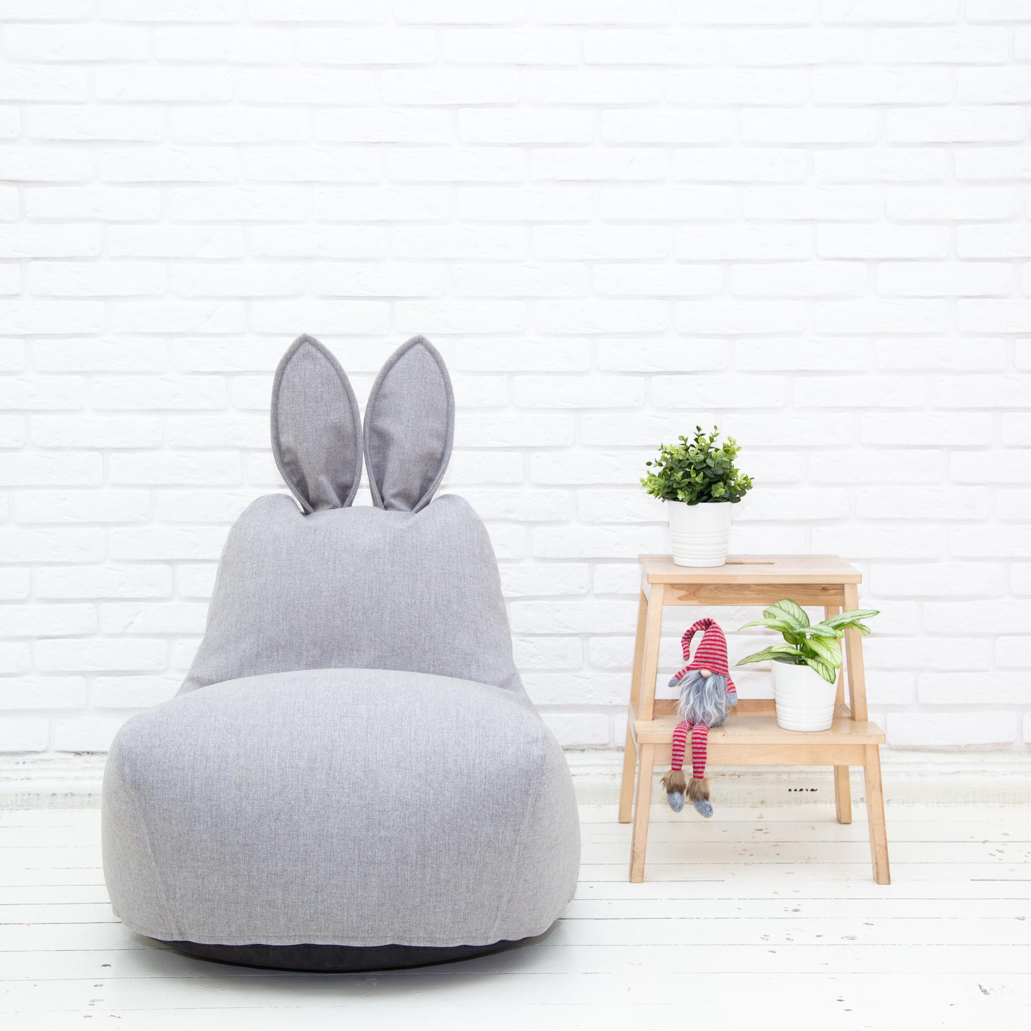 Кролик S (светло-серый)