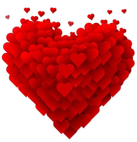 Печать на вафельной бумаге, День Влюбленных 46