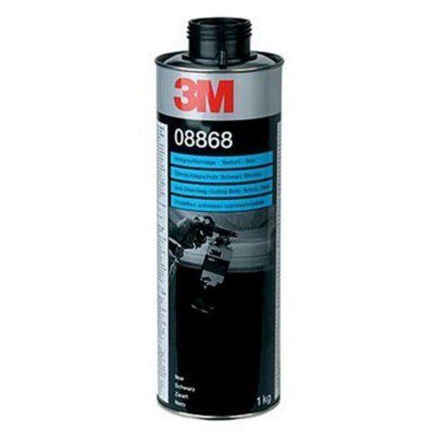 3M Покрытие антигравийное текстурное (черное), 1 кг 08868