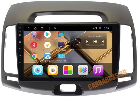 Головное устройство Hyundai Elantra, Avante 2006-2010 Android 9.0 модель  CB 3054T8