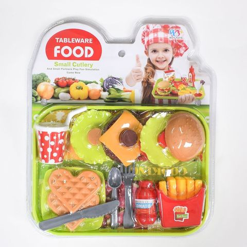 Набор на блистере еда + вафли