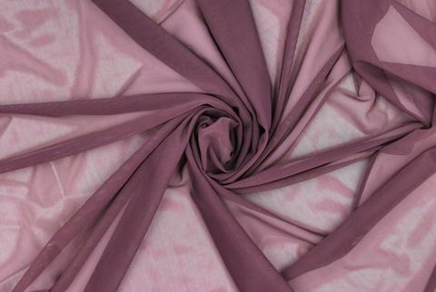 Эластичная сетка, крокус (пыльно-сиреневый), (Арт: ES-1078)
