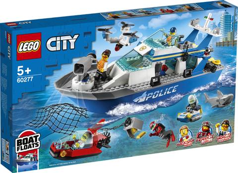 Lego konstruktor City Police Patrol Boat