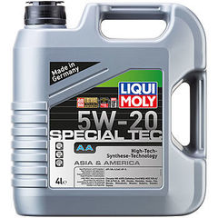 7621 LiquiMoly НС-синт.мот.масло Special Tec AA 5W-20 SM;ILSAC GF-4(4л)