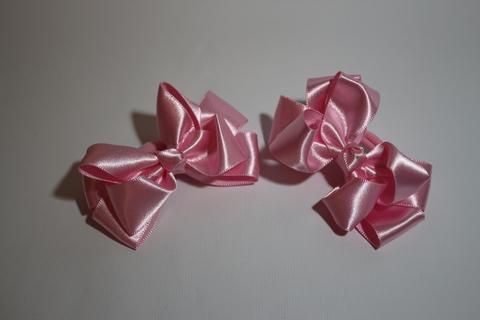 Бант атласный розовый (арт.1005 роз)