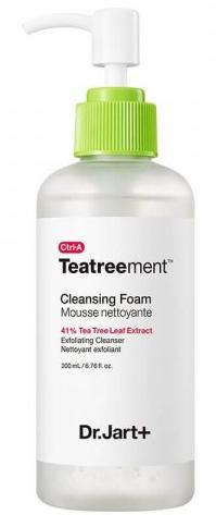 Dr.Jart+ Ctrl-A Teatreement Cleansing Foam очищающая пенка для проблемной кожи 120мл