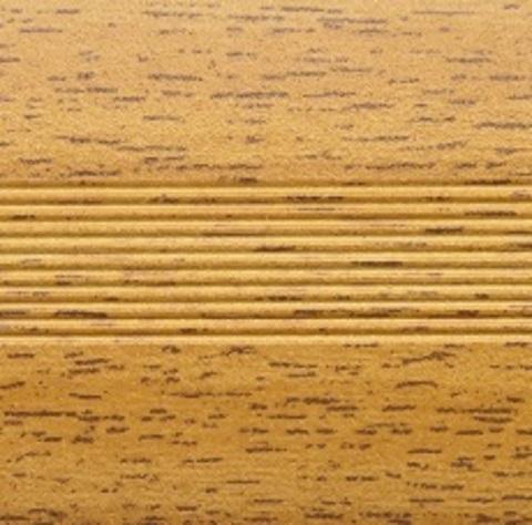 Профиль Русский Профиль Стык с дюбелем разноуровневый 30мм Бук 1800мм