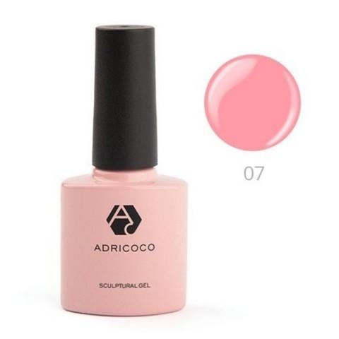 ADRICOCO, Моделирующий гель Sculptural №07, классический розовый, 8 мл