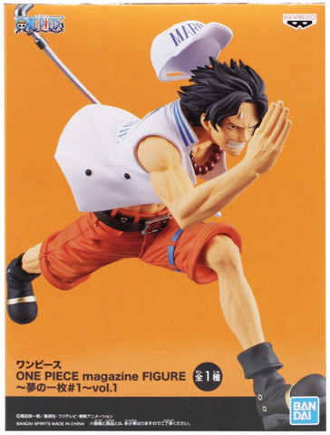 Фигурка One Piece Portgas D. Ace (A Piece Of Dream 1 Vol.1)