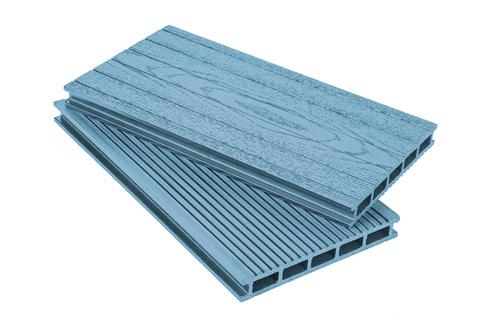 Террасная доска 160 мм Синяя
