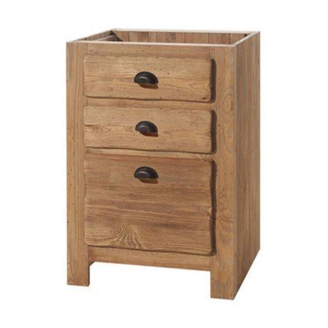 Шкаф напольный Галвей 60 (3 ящика)