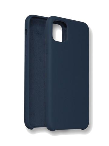 Чехол для iPhone 11 Софт тач мягкий эффект | микрофибра антрацитовый