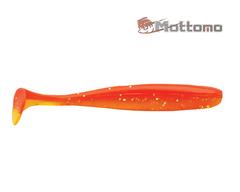 Виброхвост Mottomo Shiner 10см Orange Glow 6шт.
