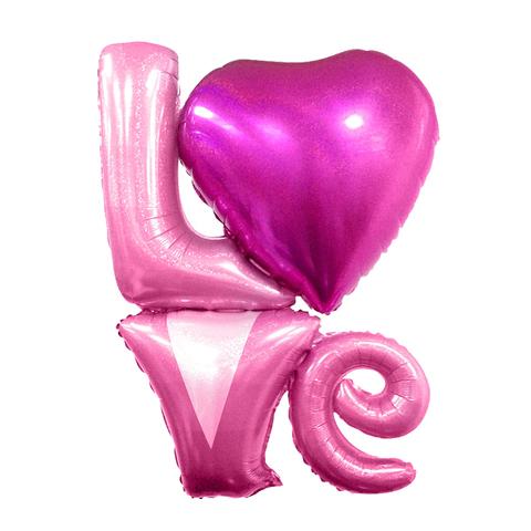 Love 104 см Розовая