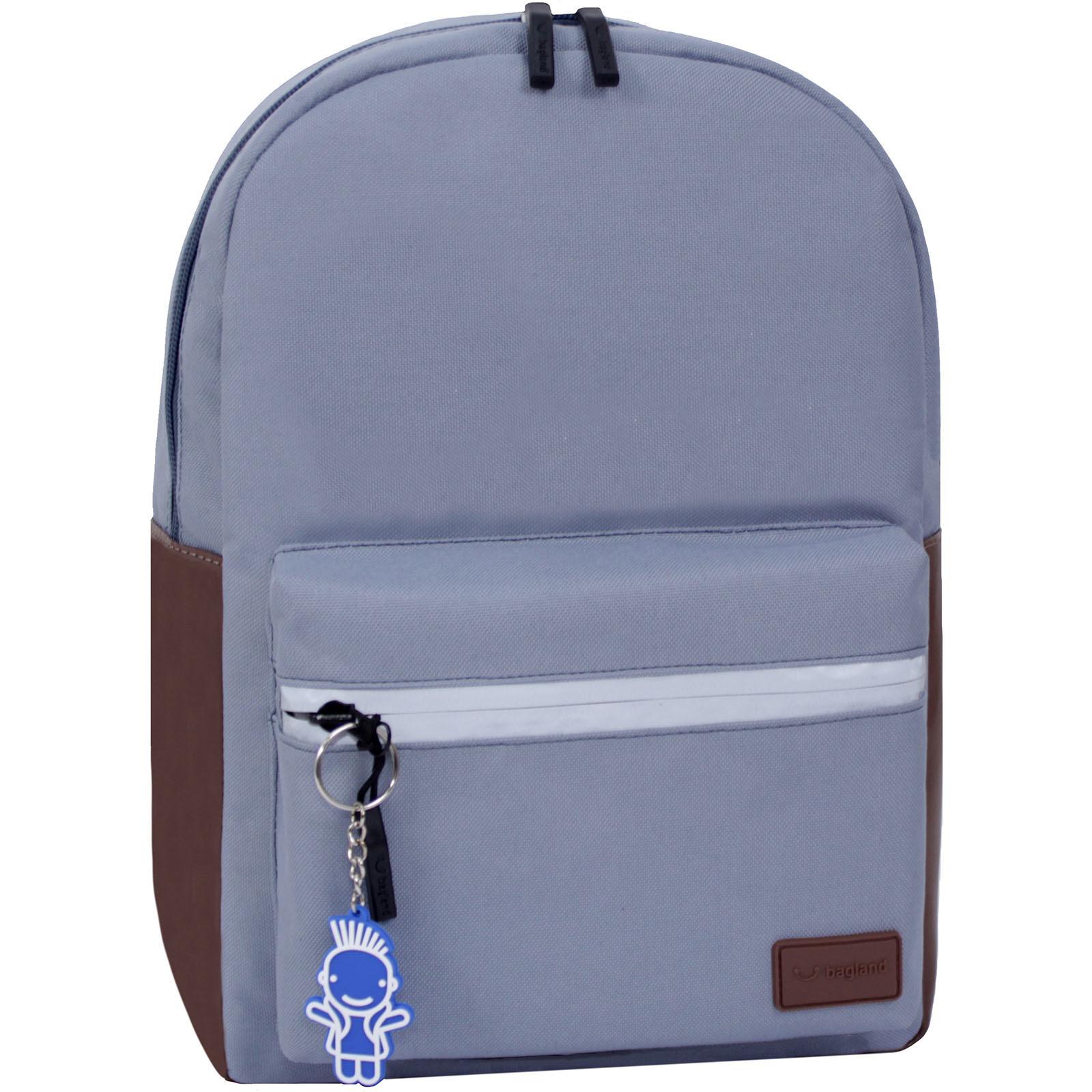 Молодежные рюкзаки Рюкзак Bagland  Frost 13 л. серый (00540663) IMG_3223.JPG
