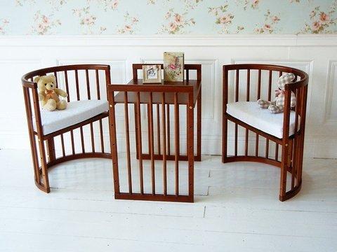 Дополнительный комплект деталей для кровати-трансформера Nuovita Nido Magia (Mogano / Махагон)