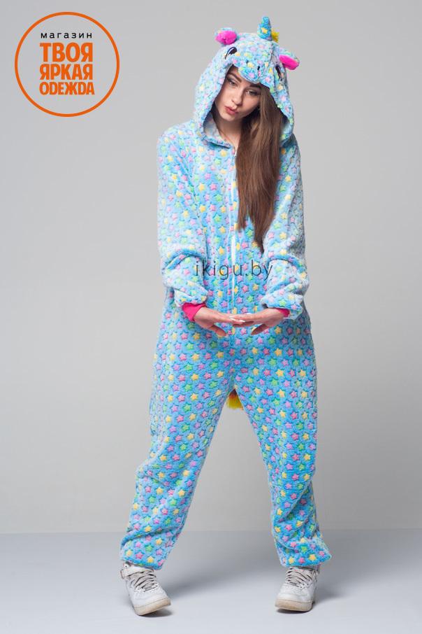 Пижамы кигуруми Единорог Blue Star blustar2.jpg