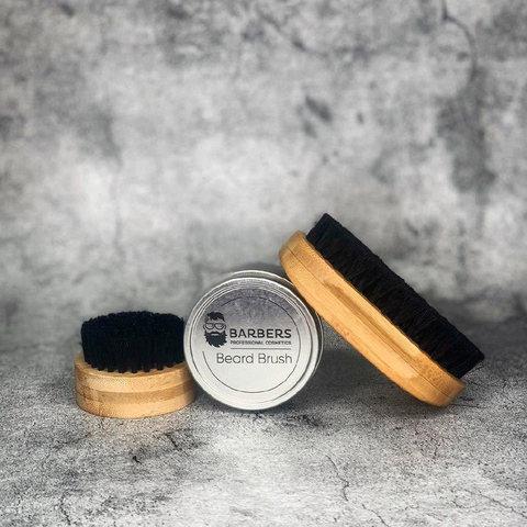 Щітка для бороди Barbers Round Beard Brush (2)