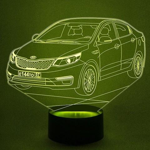 Светильник Автомобиль Kia Rio