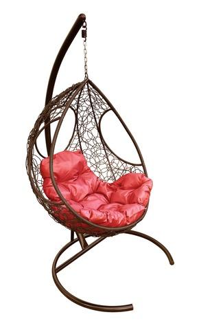 Кресло подвесное Ferrol brown/red