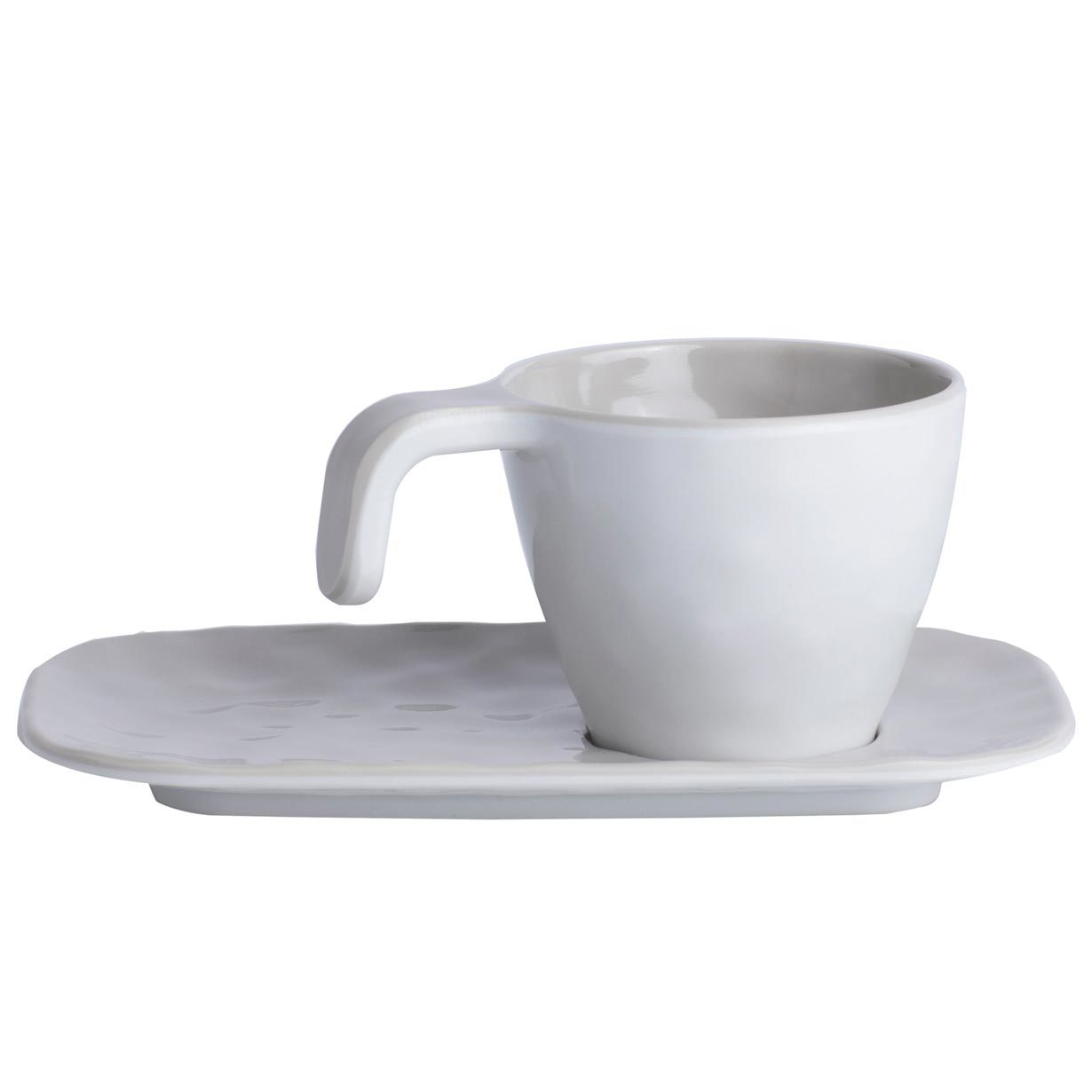 Melamine Coffee Set, Summer collection, Bone colour