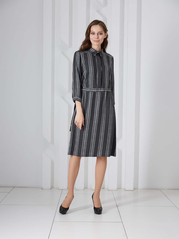 Платье plt-51773f/антрацит