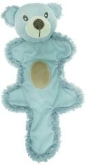 Игрушка для собак, AROMADOG, Мишка с хвостом 25 см голубой