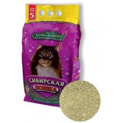Наполнитель для кошачьего туалета, Сибирская Кошка, комкующийся, Экстра для длинношерстных