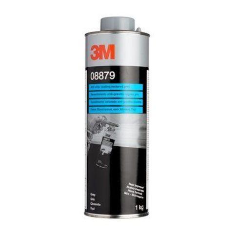 3M Покрытие антигравийное текстурное (cерое), 1 кг 08879