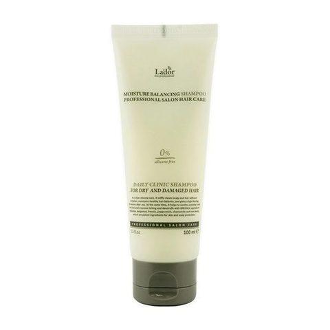 Lador Moisture Balancing Shampoo увлажняющий бессиликоновый шампунь