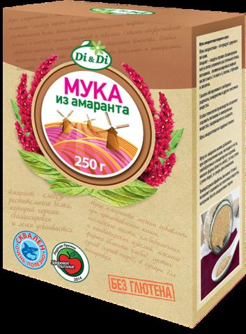 Мука амарантовая, Di&Di, ,250 г