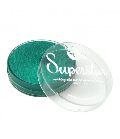 341 Аквагрим Superstar 16 гр перламутровый зеленый
