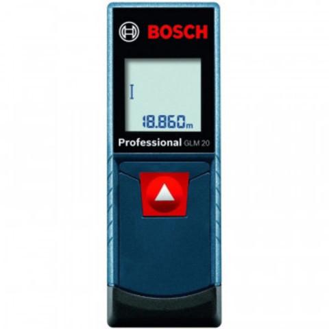 Дальномер лазерный Bosch GLM 20 (0.601.072.E00)