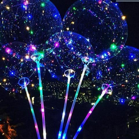 Светодиодный воздушный шар (набор для сборки)