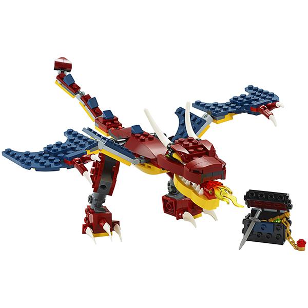 LEGO Creator 31102 Конструктор ЛЕГО Криэйтор Огненный дракон